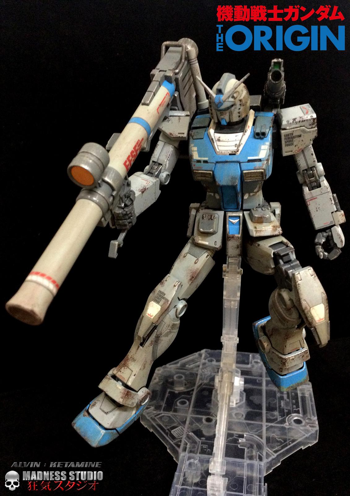 Alvin Ketamine S Mg 1 100 Rx 78 2 Gundam The Origin
