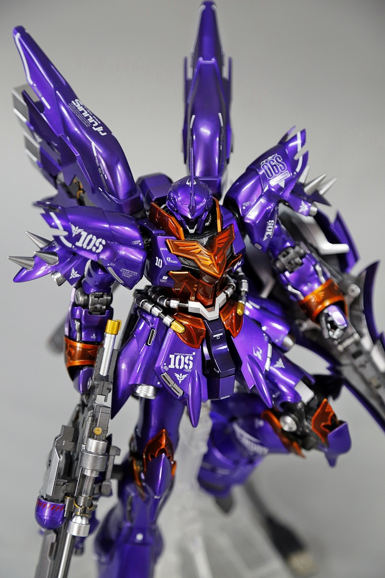 Pteamvn S Mg 1 100 Sinanju Custom Paint Full Leds Big