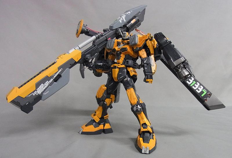 buster gundam custom build