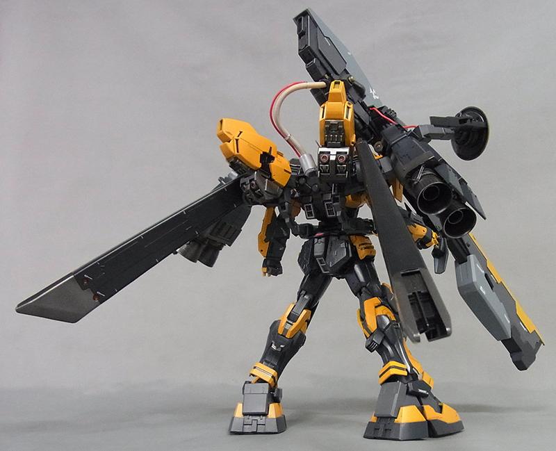 buster gundam custom