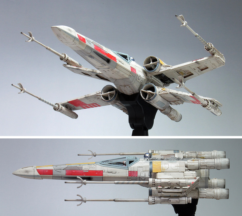 g cube s bandai x star wars 1 48 x wing starfighter moving. Black Bedroom Furniture Sets. Home Design Ideas