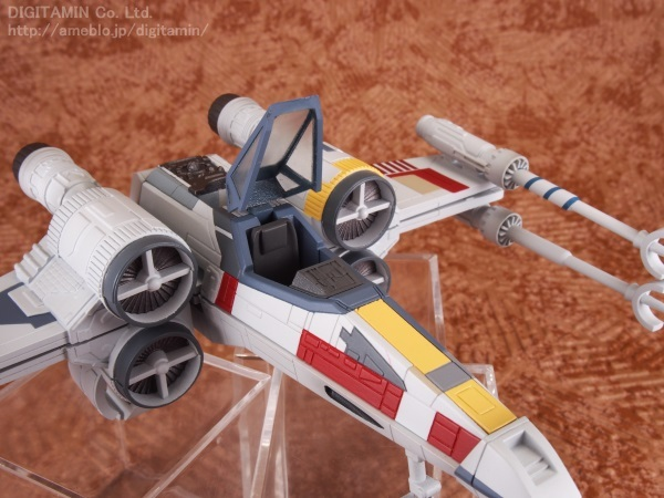 DIGITAMIN's Sample Review: MegaHouse x Star Wars Variable Action D-Spec X-WING STARFIGHTER