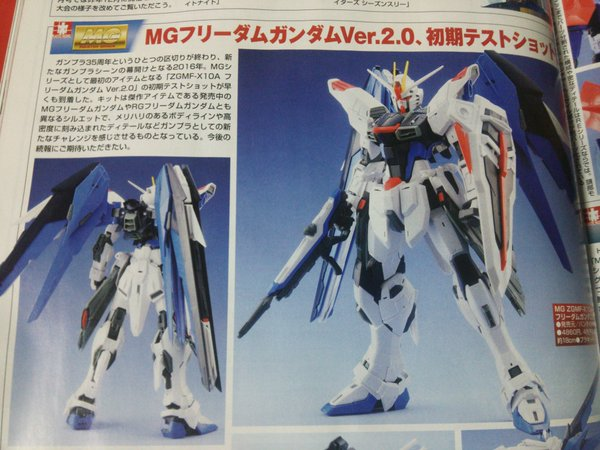 [SCANS] UPCOMING GUNPLA in HOBBY JAPAN Magazine March 2016 issue - UPDATED -