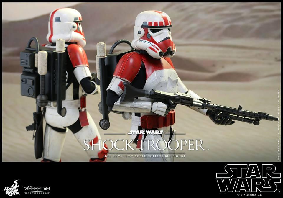 STAR WARS BATTLEFRONT: Hot Toys 1/6 SHOCK TROOPER