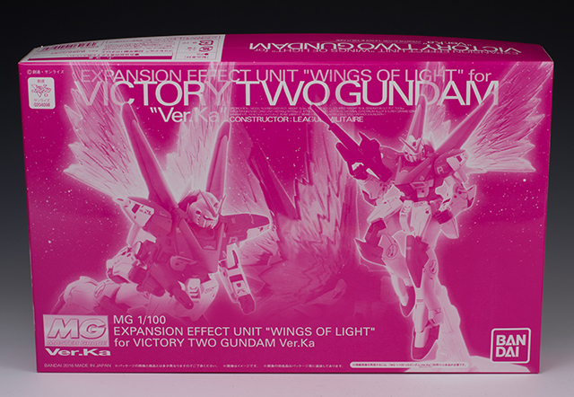 "Detailed REVIEW: P-Bandai MG 1/100 Expansion Effect Unit ""WINGS OF LIGHT"" for Victory Two Gundam Ver.Ka [No.27 Big Size Images], Info"