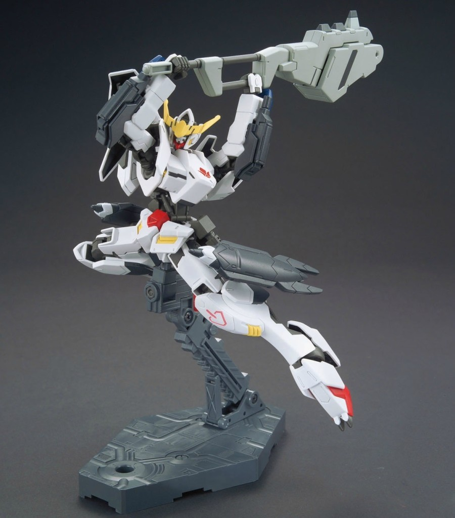 [SAMPLE REVIEW] HGIBO 1/144 GUNDAM BARBATOS 新形態 NEW FORM : The Iron-Blooded Chainsaw Massacre!!! Big Size Images, Info Release