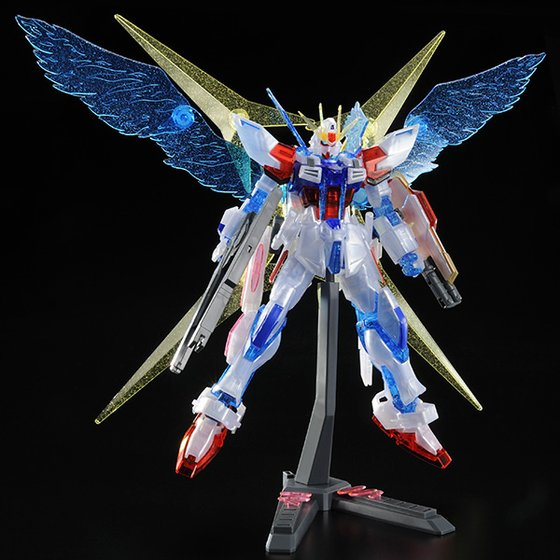 P-Bandai HGBF 1/144 Star Build Strike Gundam Ver.RG system [resale]: Official Images, Info Release