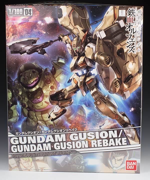 MEGA Full detailed REVIEW 1/100 GUNDAM GUSION / GUNDAM GUSION REBAKE: No.108 Images, credits