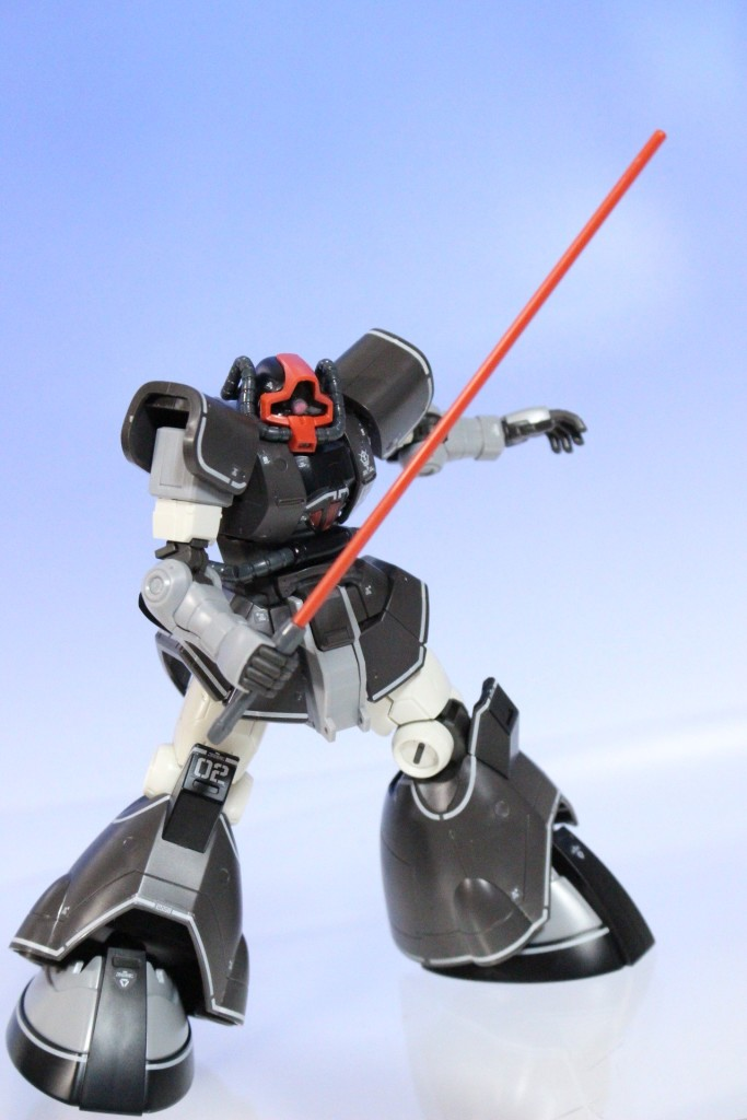 Detailed REVIEW: HG GTO MSD 1/144 YMS-08B Dom Test Type