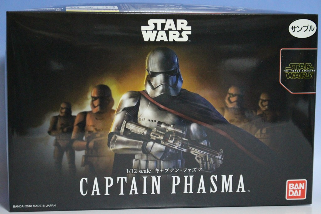 Bandai x Star Wars The Force Awakens 1/12 CAPTAIN PHASMA: Box Open REVIEW