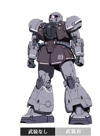 HG Gundam The Origin 1/144 YMS-03 VAFF [ヴァッフ]: NEW Big Size Official Images, Info Release
