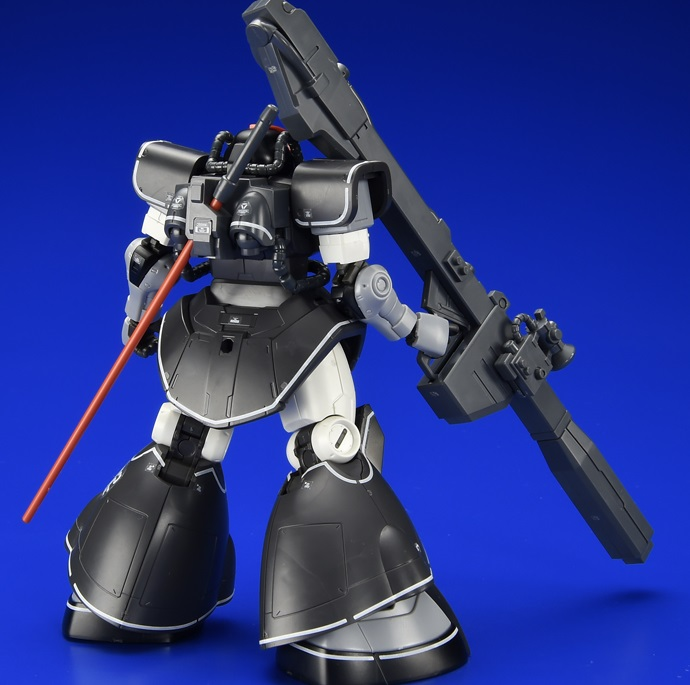 [SAMPLE REVIEW] HG GTO MSD 1/44 YMS-08B DOM TEST TYPE [Gundam The Origin]: Images, Info Release
