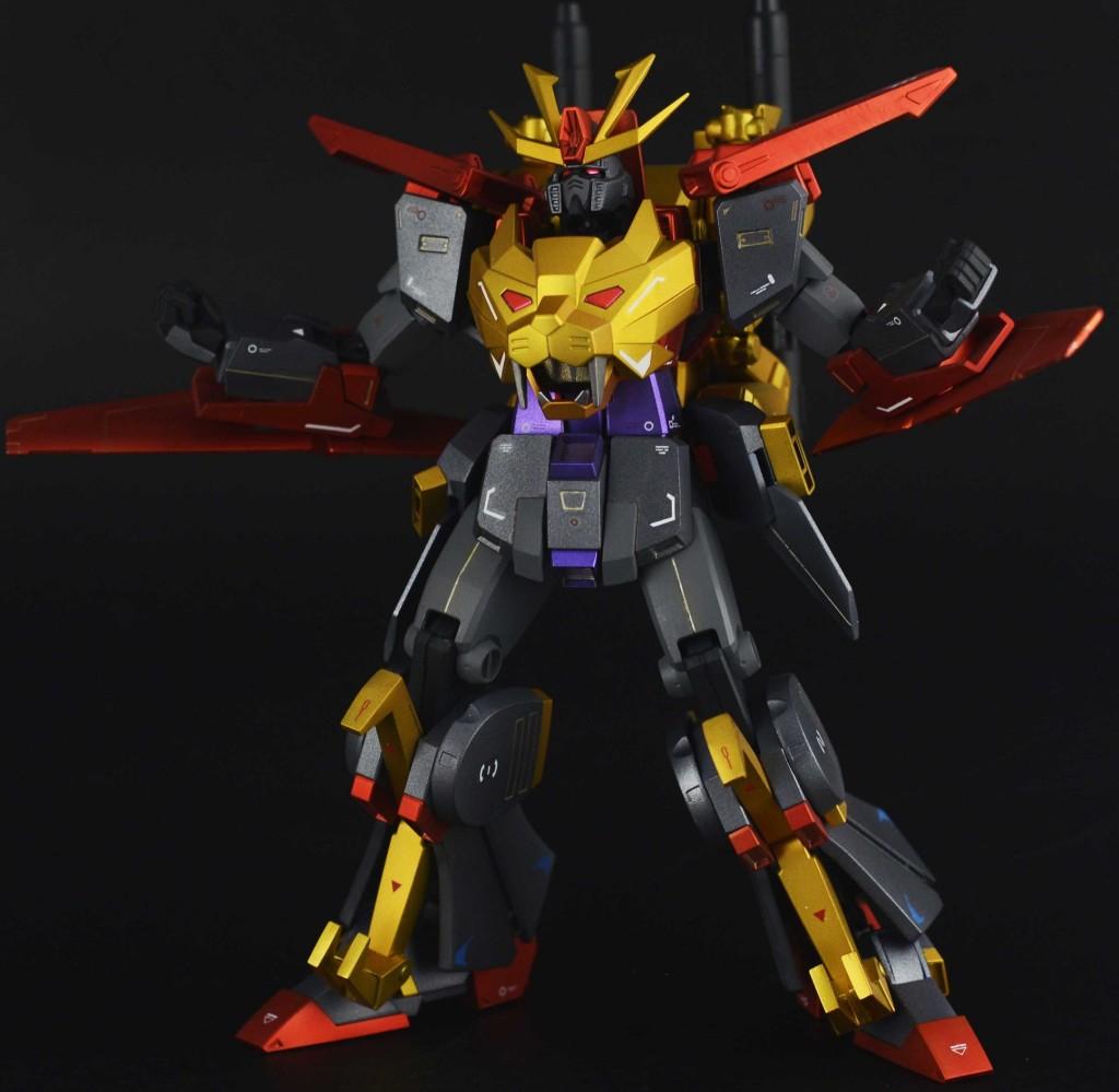 大长腿妹抖's Custom 1/144 Dark Gundam Tryon 3: Full Photo Review, Info