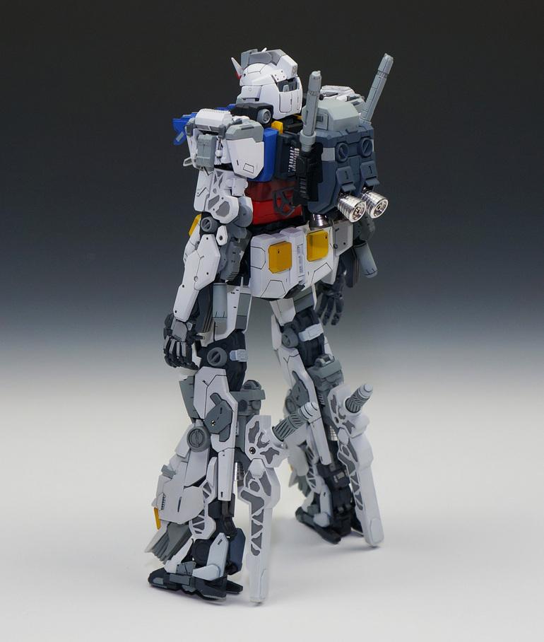 pd02a's CUSTOM McDonnell Douglas RX-78-MD Gundam [MG 1/100 RX-78-2 Gundam 3.0] Big Size Images, Info