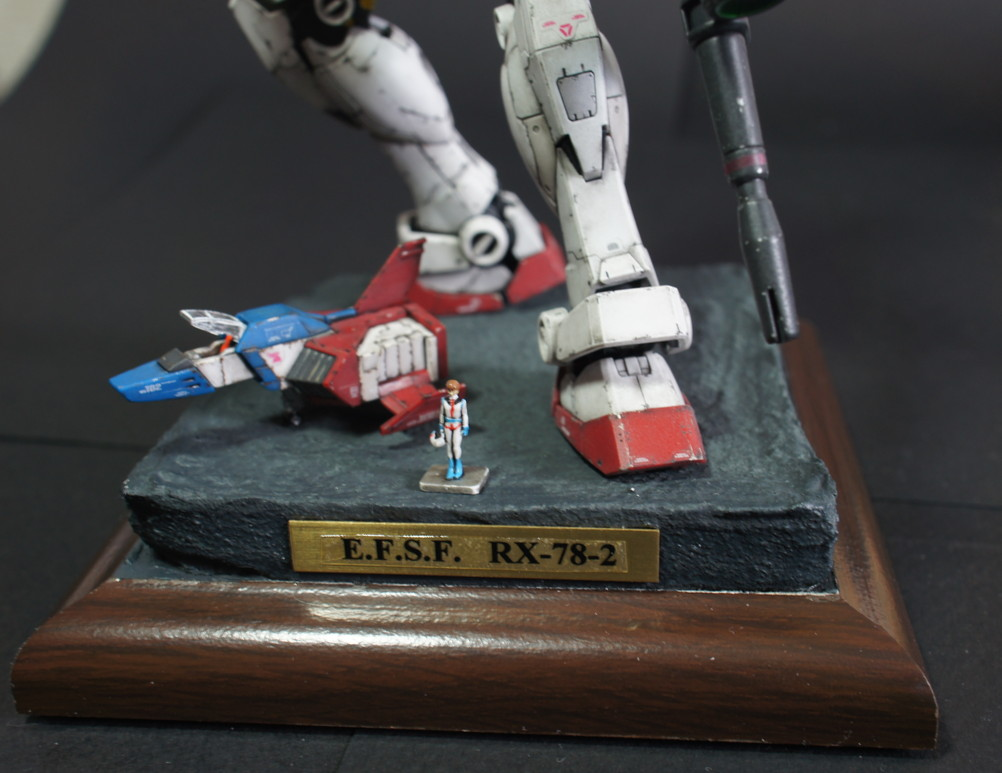 ymym's AMAZING WORK: RG 1/144 RX-78-2 Gundam A Baoa Qu Ver. Full Photo Review, Info