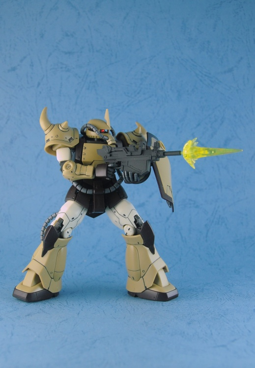 hypnos.lee's P-Bandai HG Origin YMS-07B-0 Prototype Gouf Sand Color Ver. Images, Info