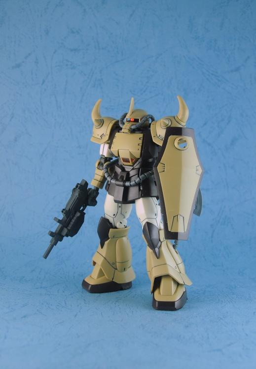 hypnos.lee's P-Bandai HG Origin YMS-07B-0 Prototype Gouf Sand Color Ver. Images, Info