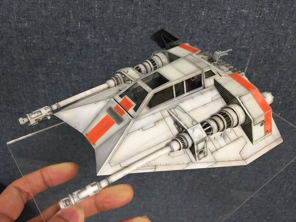 Dragon Models x Star Wars: 1/35 SNOWSPEEDER UPDATE IMAGES, Credits