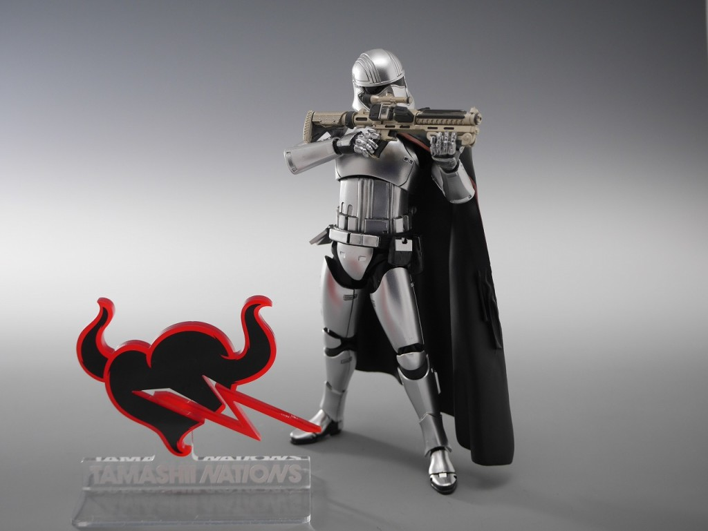 S.H.Figuarts Star Wars The Force Awakens CAPTAIN PHASMA: No.6 Big Size Official Images, Info Release