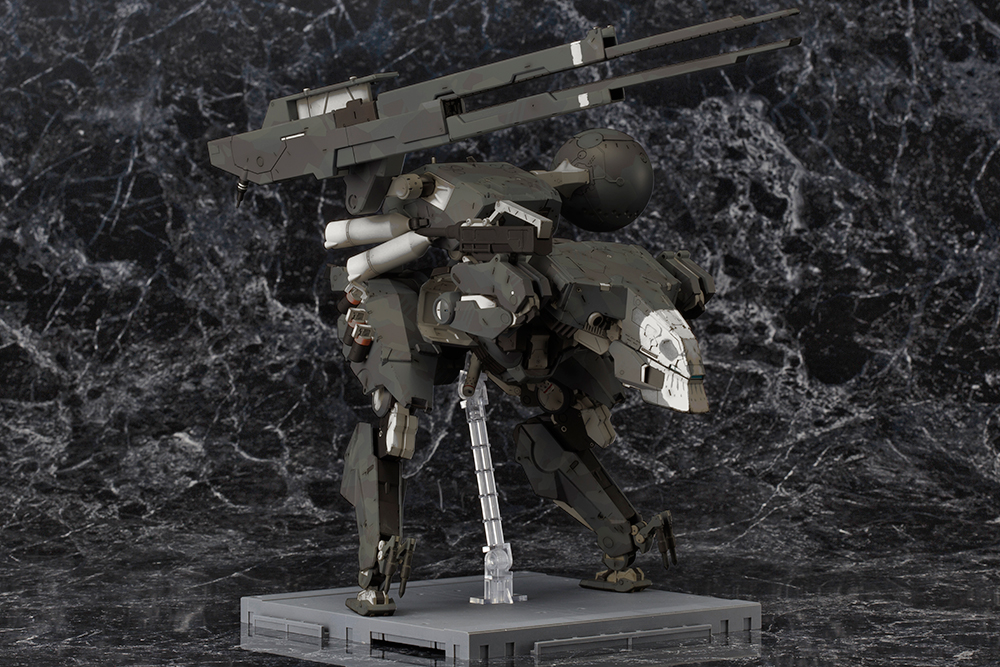 Kotobukiya's 1/100 Metal Gear Sahelanthropus Black Ver. Many Official Images, Info Release