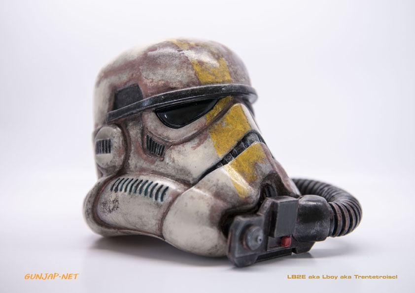 star wars stormtrooper helmet lb2e s original custom paint and