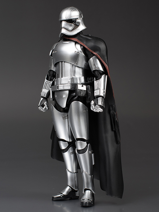 schizophonic9's Full Detailed Review: S.H.Figuarts CAPTAIN PHASMA [Star Wars The Force Awakens] No.43 Big Size Images, Info