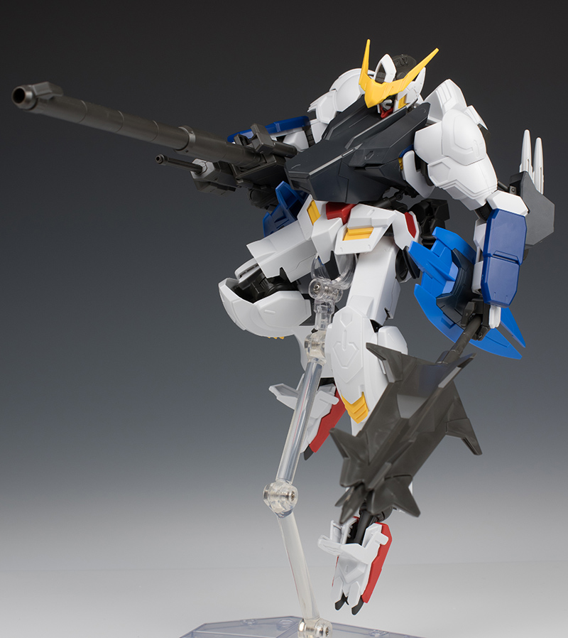 REVIEW] 1/100 GUNDAM BARBATOS 6TH FORM: Many Big Size Images, Info ...