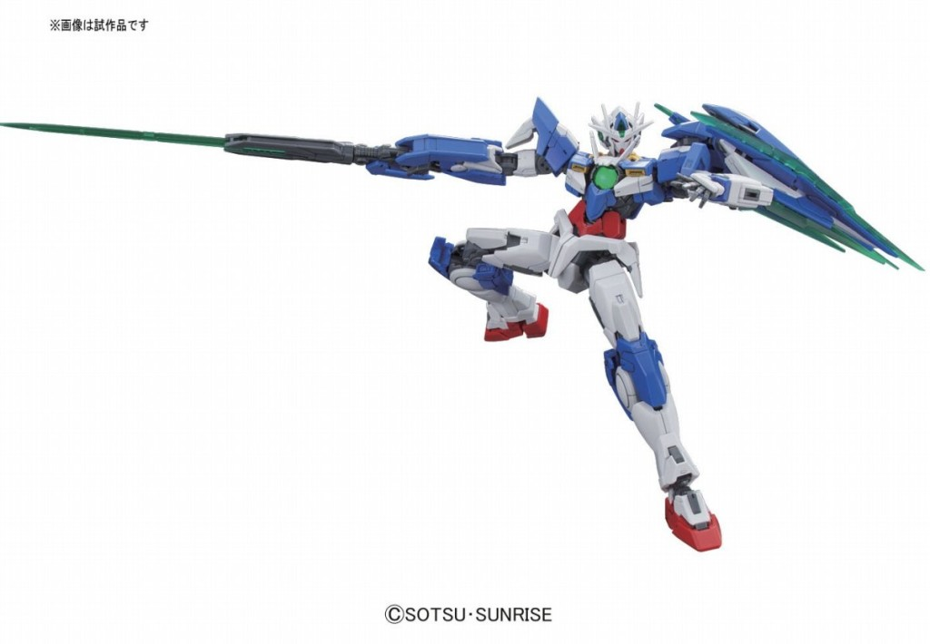 RG 1/144 GNT-0000 00 Qan[T]: Just Added No.9 Big Size Official Images, Info Release