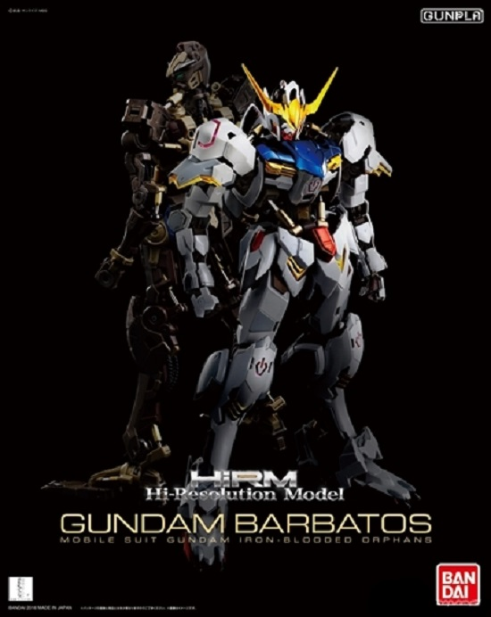 HIRM 1/100 [Hi-Resolution Model] Gundam Barbatos: Just Added  A LOT of Official Images, Full Info