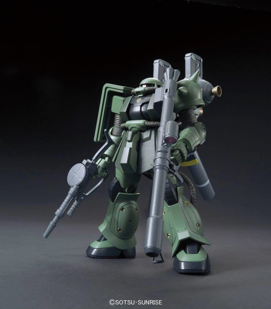 HGGT 1/144 MS-06 ZAKU II + BIG GUN SET [Gundam Thunderbolt Ver.]: Just Added No.19 NEW AMAZING Big Size Official Images, Full Info