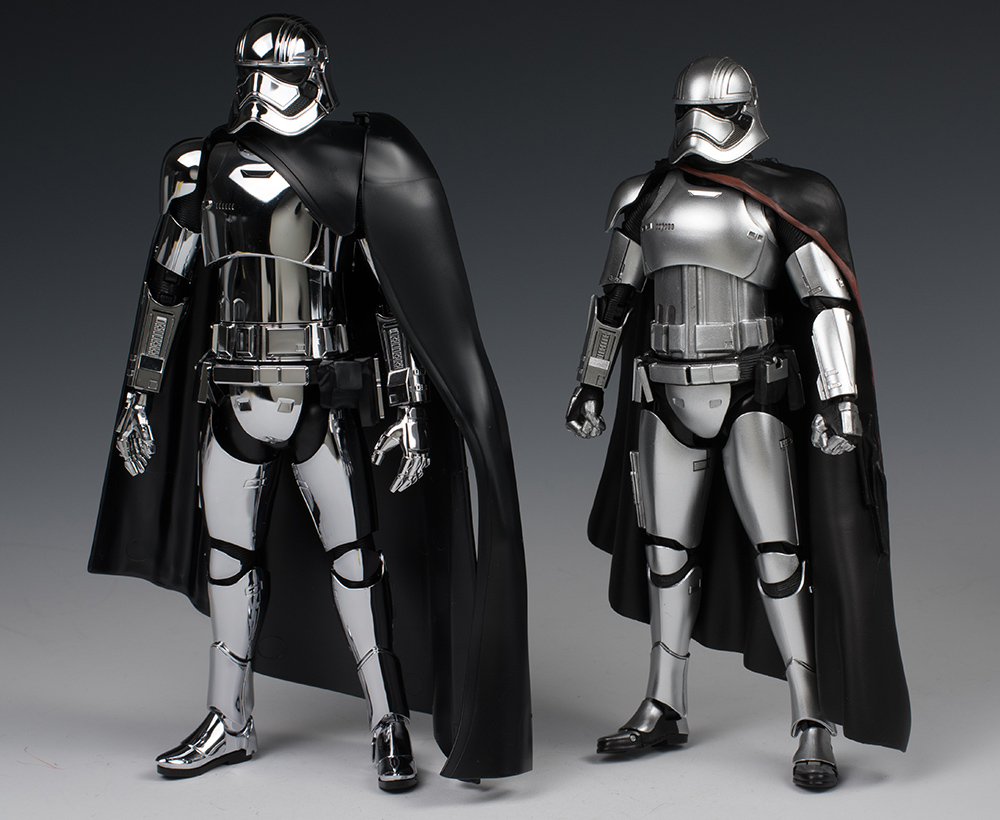FULL REVIEW Bandai x Star Wars The Force Awakens 1/12 CAPTAIN PHASMA: No.41 Big Size Images