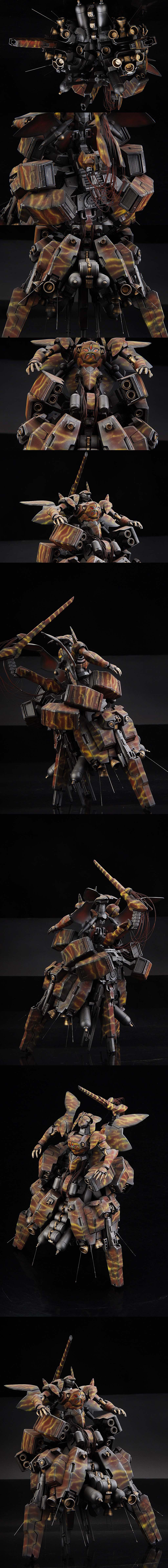 csrtx414's AMAZING CUSTOM: 1/144 AGE MA BAQTO. Full Photo REVIEW, Info