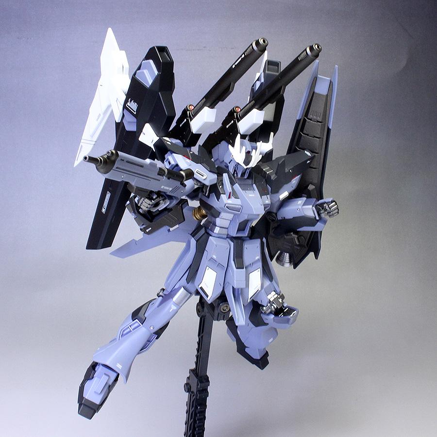 P-Bandai HGBF 1/144 Hi-Nu Gundam Influx. Big Size Images