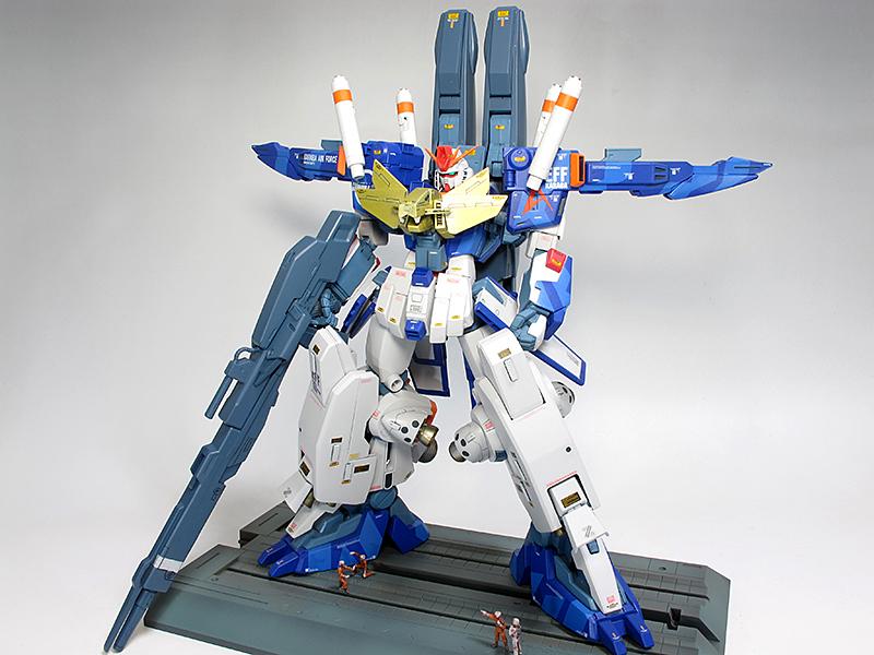 [GBWC2015] gtfmatida's MG 1/100 ZZ Gundam 「一鬼当千」Custom: Big Size Images