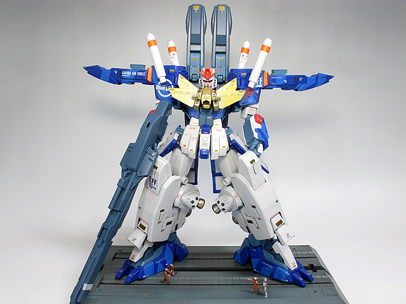 [GBWC2015] gtfmatida's MG 1/100 ZZ Gundam 「一鬼当千」Custom