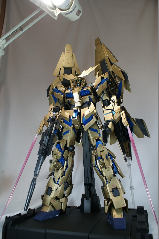 prakiss_garden's REMODELING: PG 1/60 RX-0 Unicorn Gundam 03 PHENEX. Full Photo Review + W.I.P.