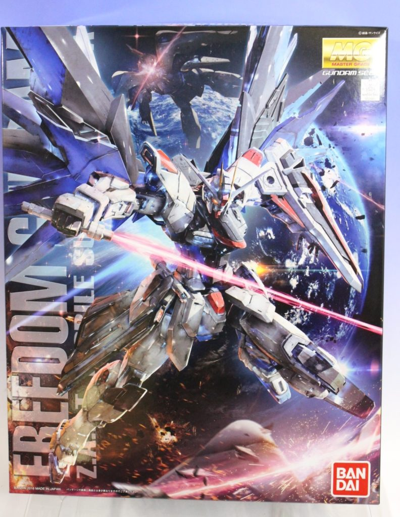 MG 1/100 FREEDOM GUNDAM Ver.2.0 くらくらプラモ's Box Open REVIEW. Big Size Images, Info