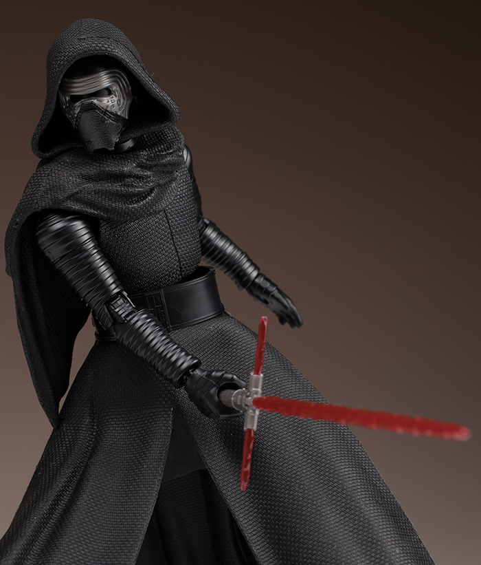 FULL REVIEW: Bandai x Star Wars The Force Awakens 1/12 KYLO REN. Many Big Size Images, Info