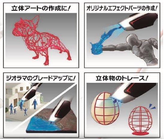 MEGAHOUSE's 3D DREAM ARTS PEN Pro. Official Images, Full Info
