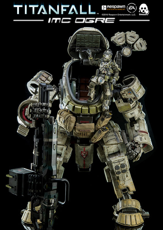 threezero's Sample REVIEW: 1/12 TITANFALL IMC OGRE
