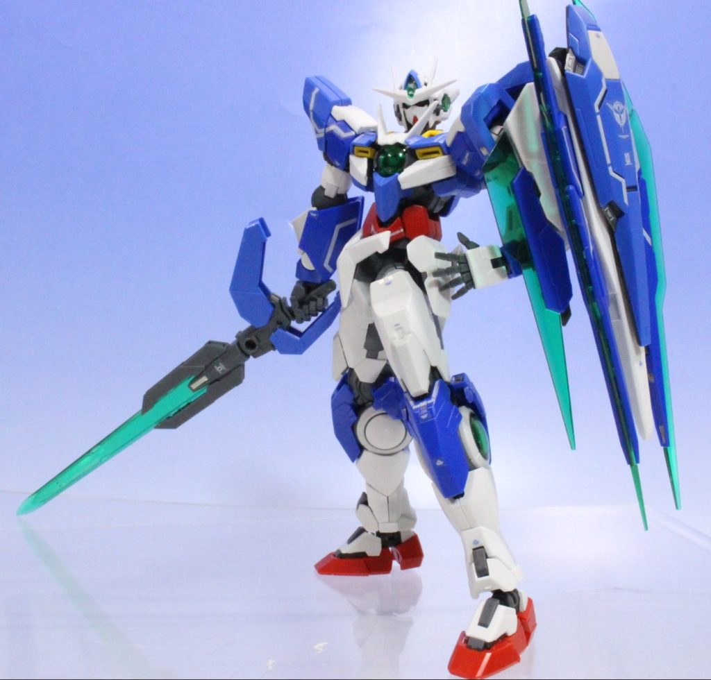 FULL DETAILED REVIEW: RG 1/144 00 QAN[T]: MANY Big Size Images, Info