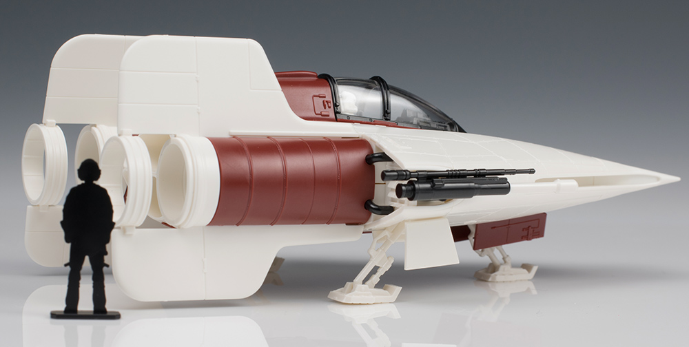 FULL REVIEW: Bandai x Star Wars 1/72 A-WING STARFIGHTER