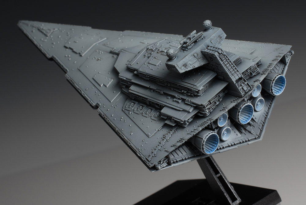 [FULL REVIEW] Bandai X Star Wars Vehicle Model 001 STAR DESTROYER. Big Size  Images, Info