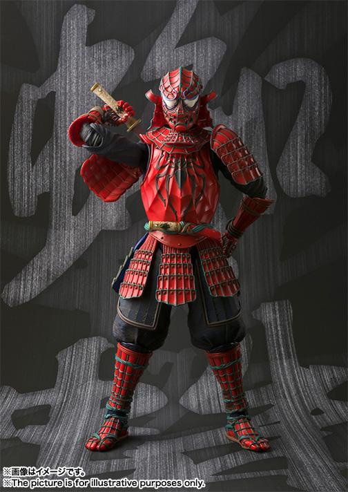名将MANGA REALIZATION 侍 SPIDER-MAN