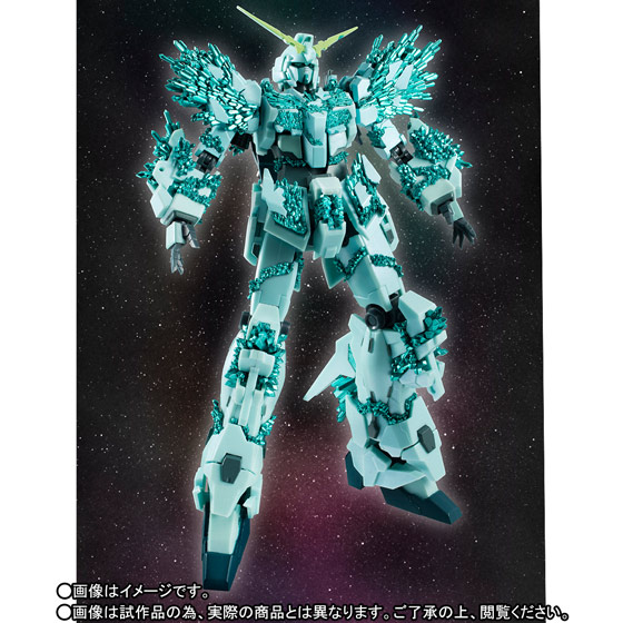 P-Bandai ROBOT魂 [SIDE MS] UNICORN GUNDAM (CRYSTAL BODY VER.) Official Images, Info Release