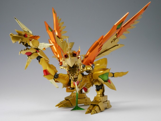 SDX Gold God Superior Kaiser Gundam
