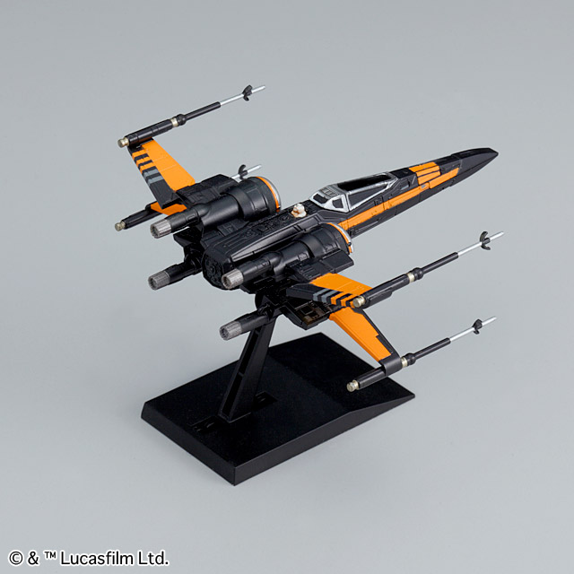 Bandai x Star Wars VEHICLE MODEL 003 POE's X-WING FIGHTER