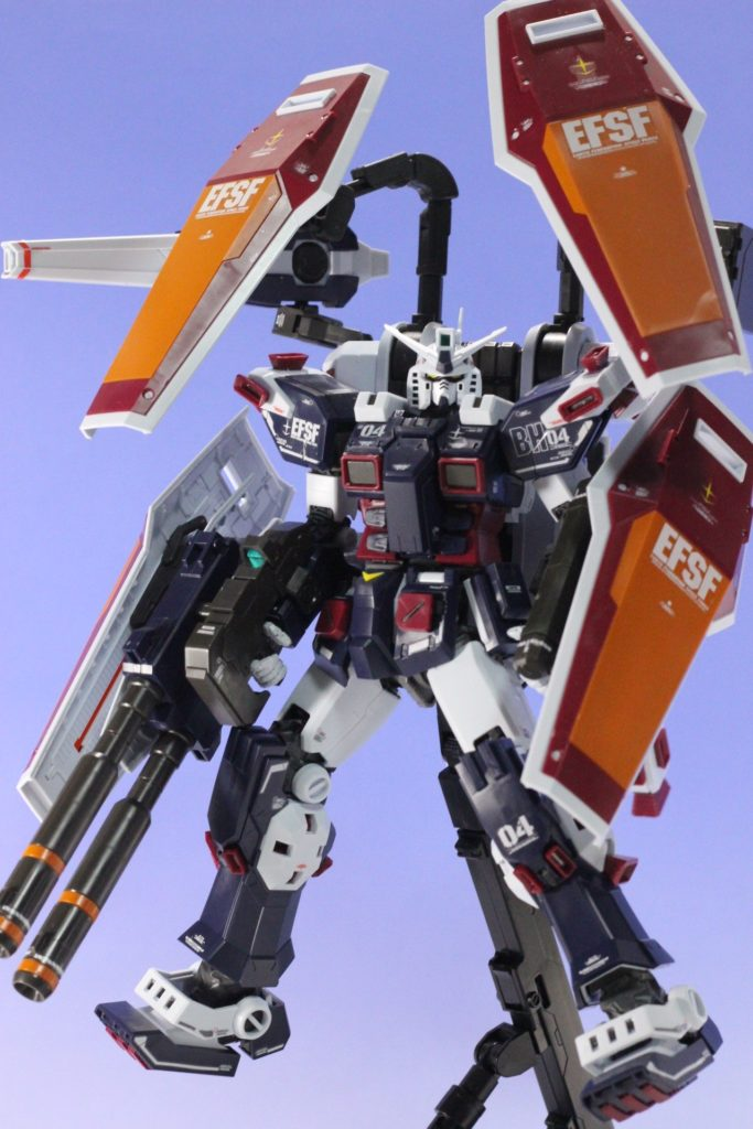 REVIEW: MG 1/100 FULLARMOR GUNDAM Ver.Ka (THUNDERBOLT)