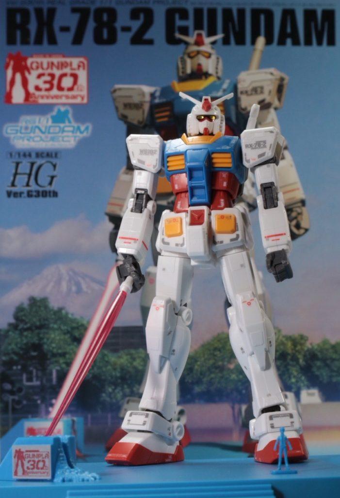 REVIEW: 1/144 RX-78-2 GUNDAM Ver.G30th REAL GRADE 1/1 Gundam Project