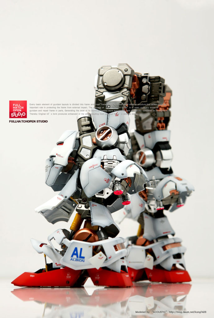 ACOUSTIC's Latest work: PG 1/60 RX-78 GP-01 GUNDAM Full Hatch Open
